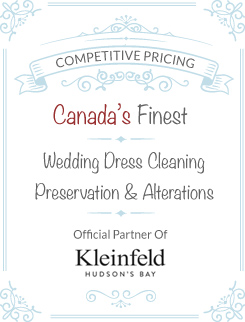 wedding dress alterations prices Canada