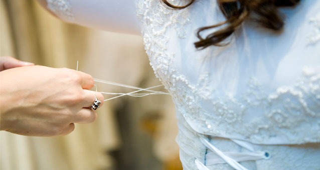wedding dress alterations Toronto