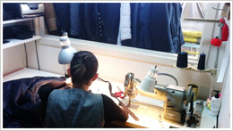 Tailor Working in Toronto