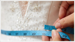 wedding gown alterations Toronto